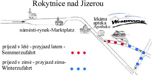 5.1 Mapka příjezdu